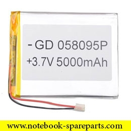 BATTERY FOR TABLET 3.7V 5000MAH