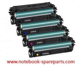 TONER HP 508A CF360A,361A,362A,363A