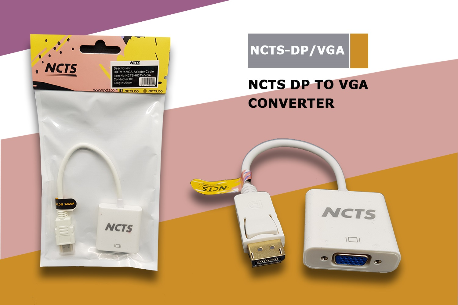 NCTS DISPLAY TO VGA PORT