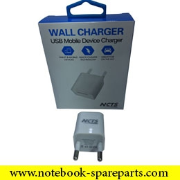 NCTS DUAL WALL CHARGER 5V 1A MODEL:NCTS-WALLCH1